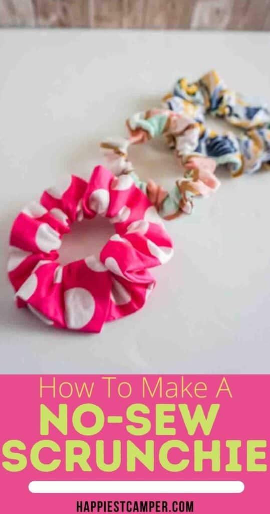 How To Make A No-Sew Scrunchie