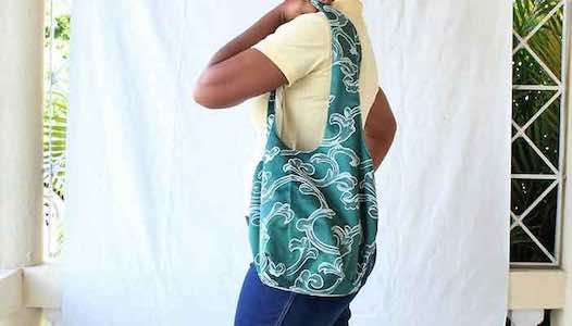 Easy Sew Slouchy tote Bag Featured Image