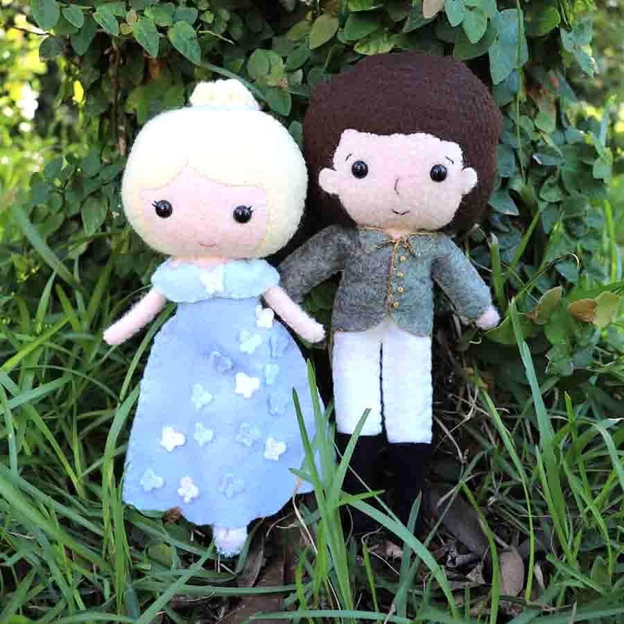 Easy Boy Doll and Girl Doll Pattern