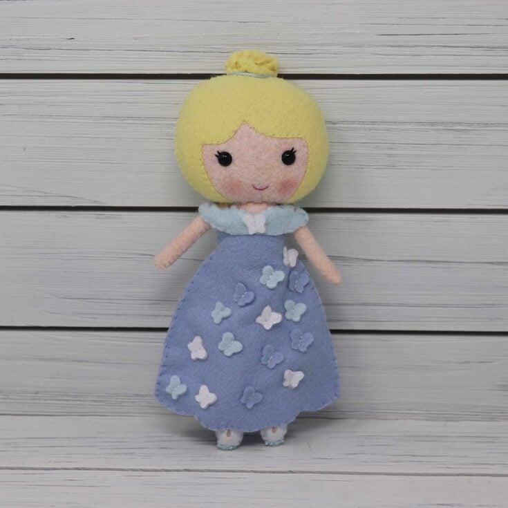 Girl Doll Create Card