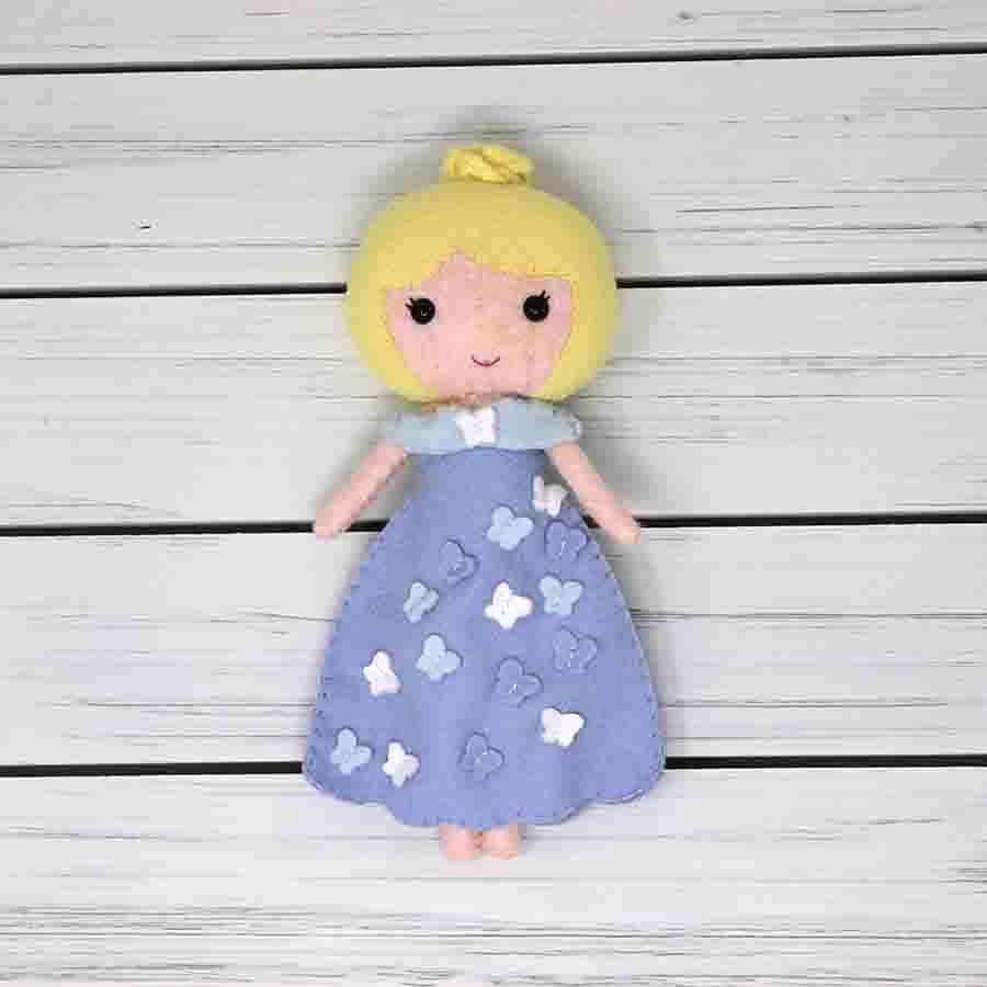 Girl Doll Dressed