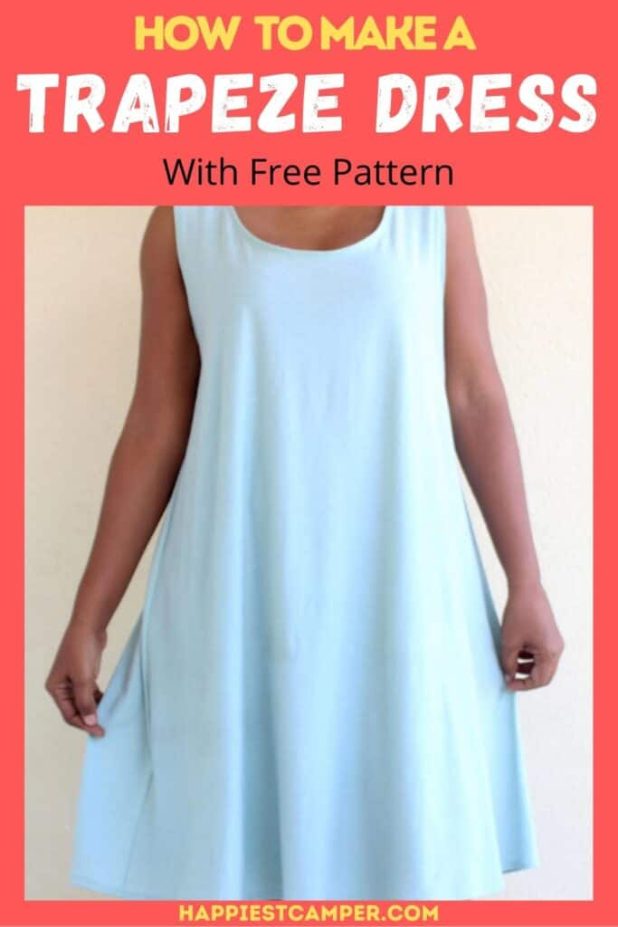 How To Make A Trapeze Dress With Free Pattern