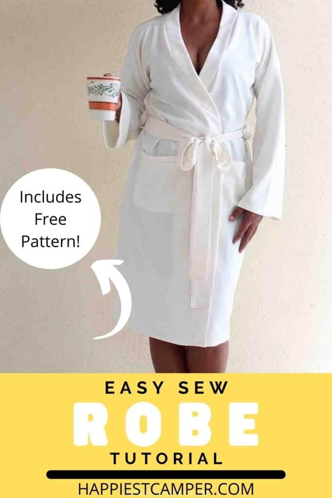 Easy Sew Robe Tutorial