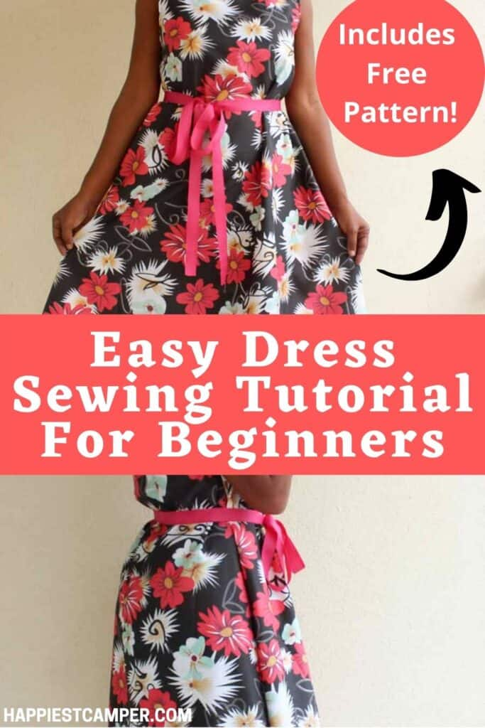Easy Dress Sewing Tutorial For Beginners