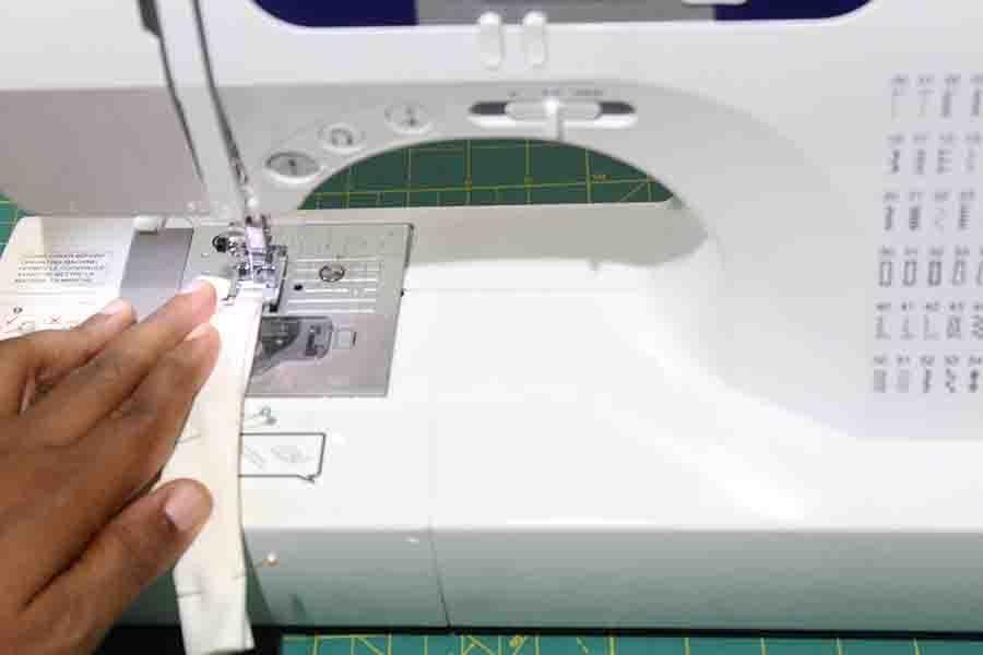 sewing belt loop for robe