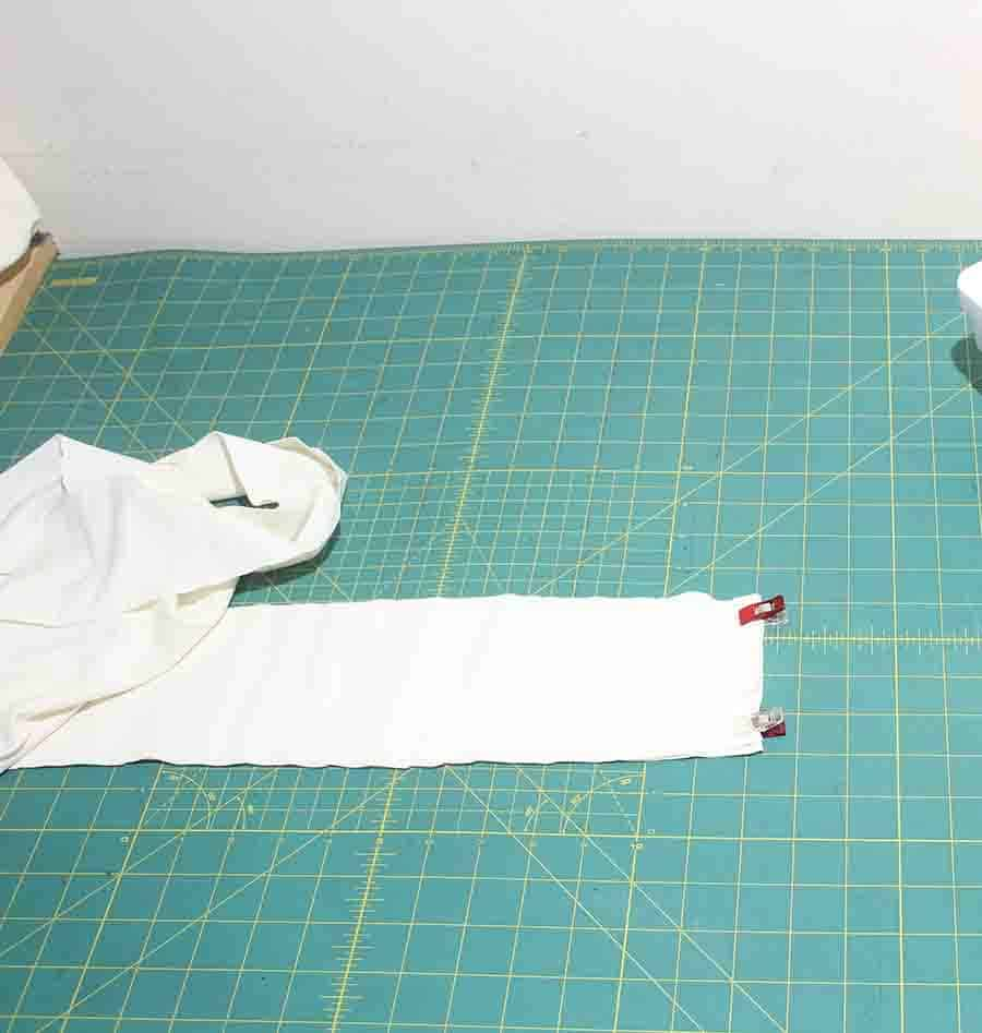 making binding for robe with free pattern