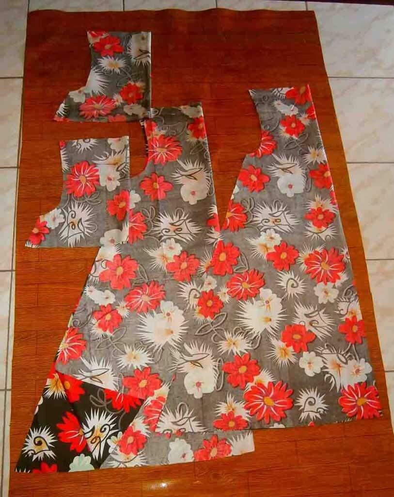cut out dress pieces
