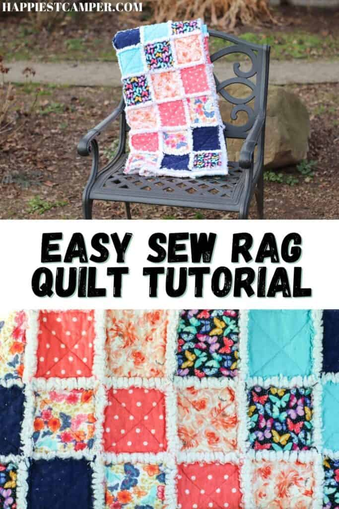 Easy Sew Rag Quilt Tutorial