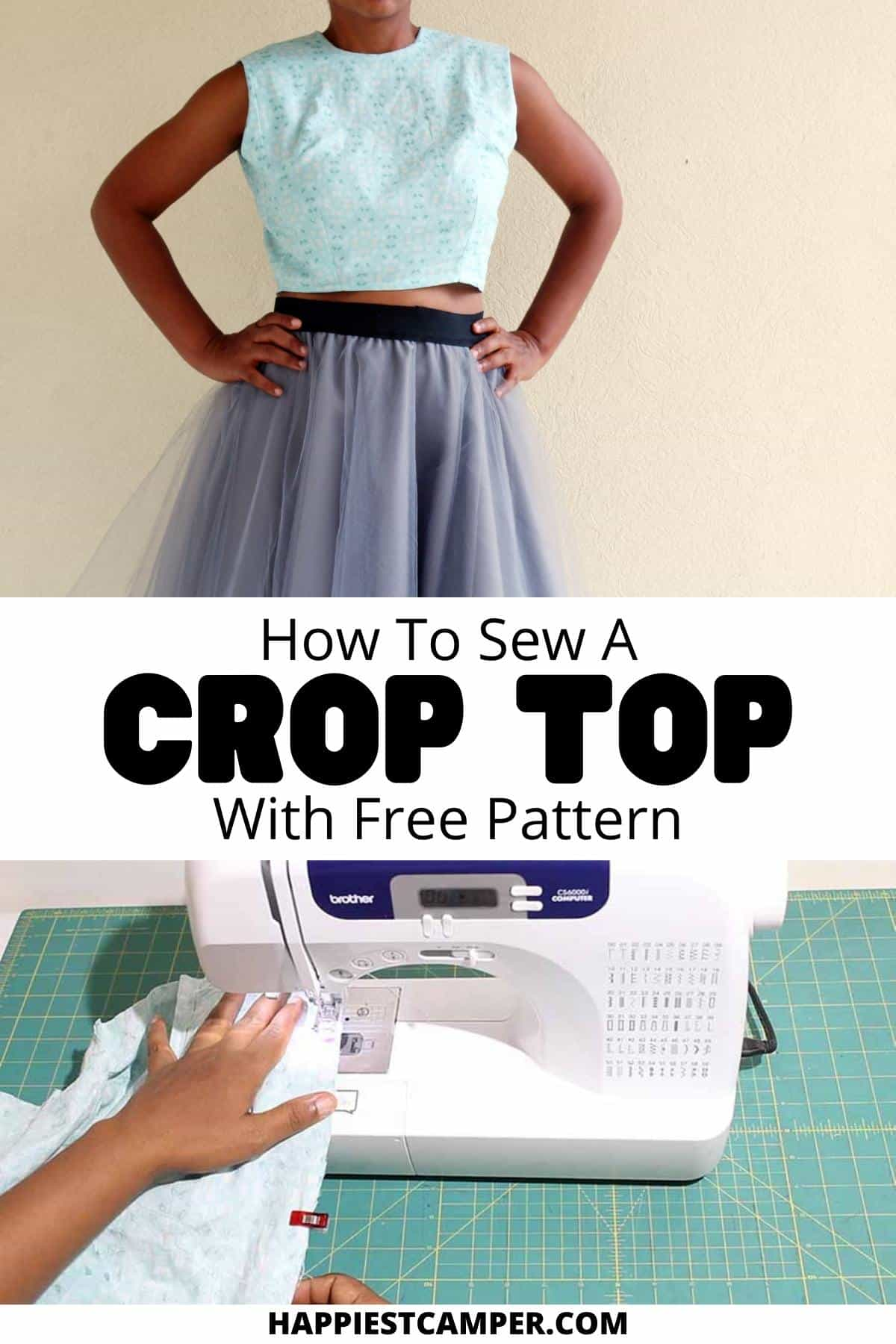 How To Sew A Crop Top With Free Pattern