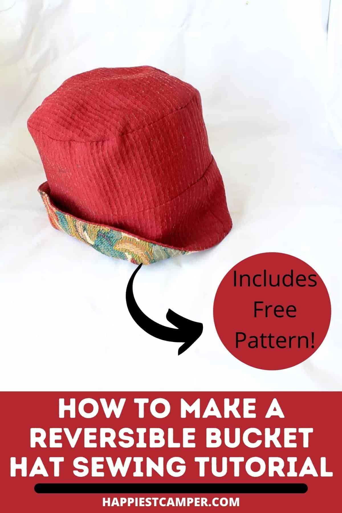 How To Make A Reversible Bucket Hat Sewing Tutorial