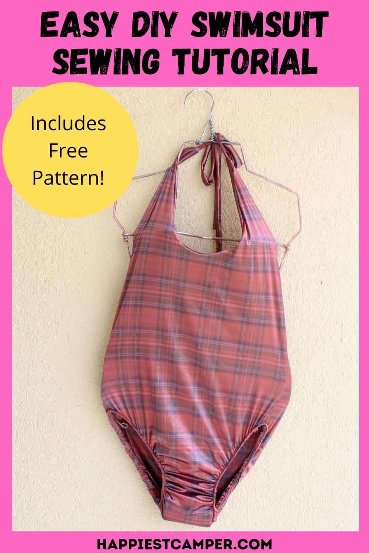 Easy DIY Swimsuit Sewing Tutorial