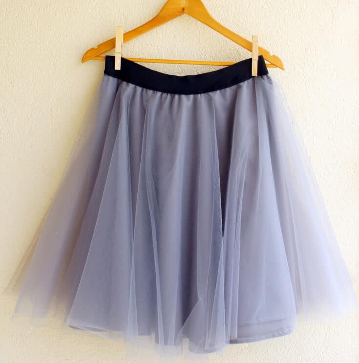 Tulle Skirt Create Card