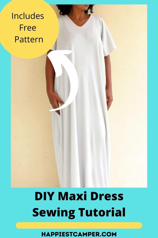 DIY Maxi Dress Sewing Tutorial