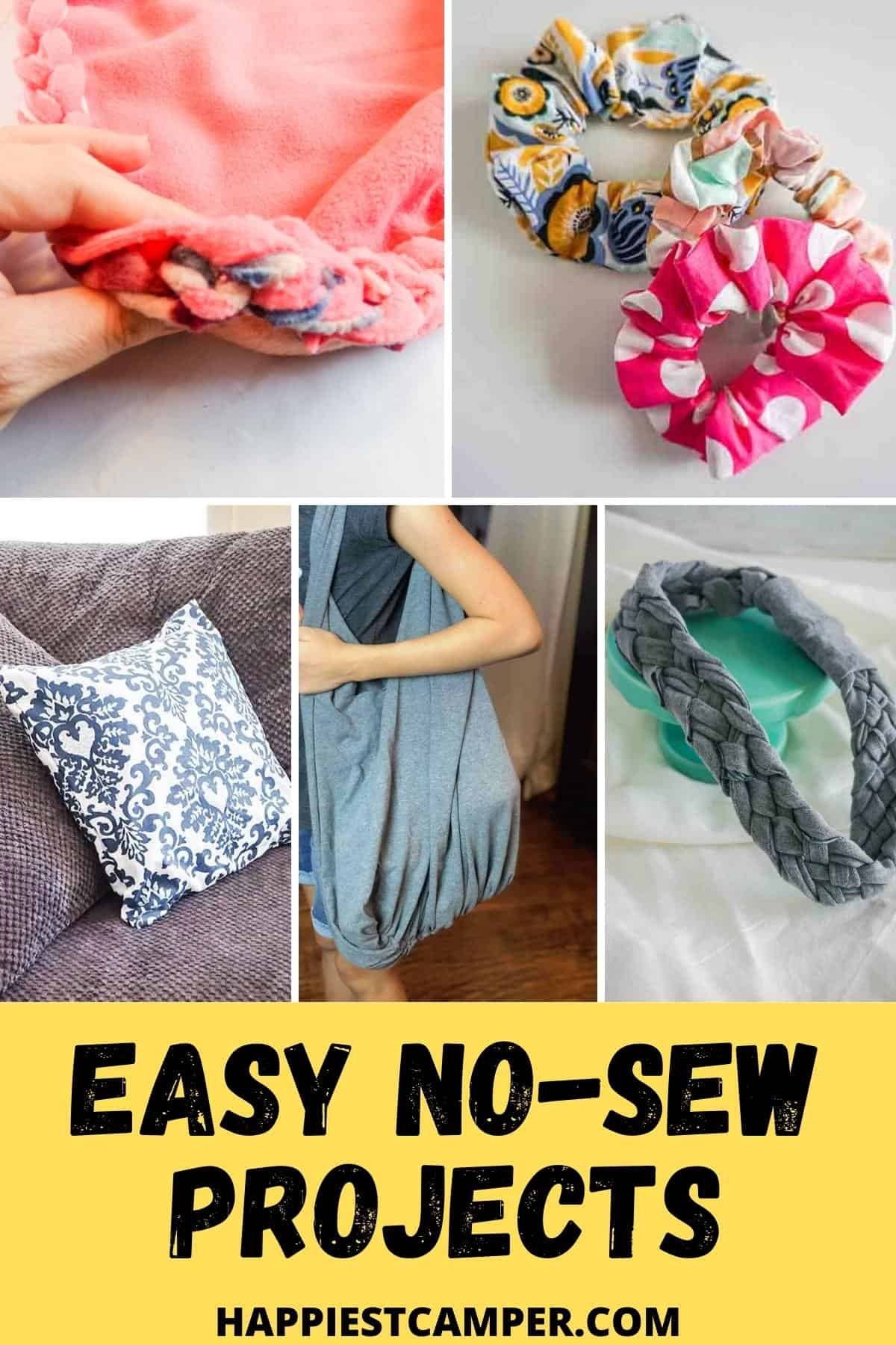 Easy No-Sew Projects