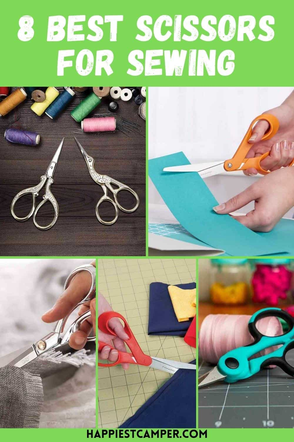 8 Best Scissors For Sewing
