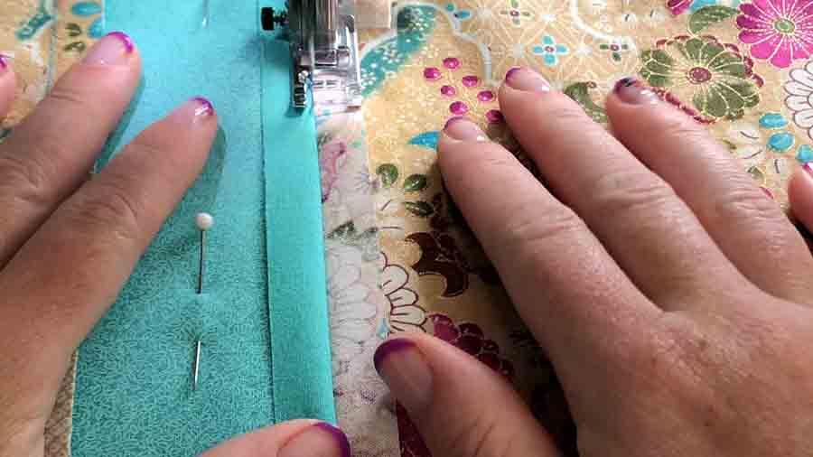 sew down seams
