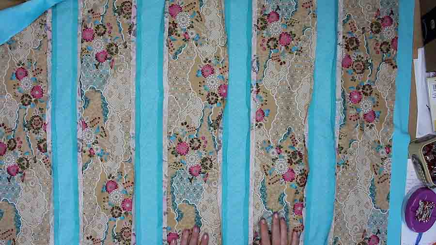 sew on quilting pattern