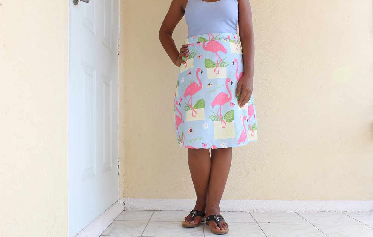 A-Line Skirt Top Photo