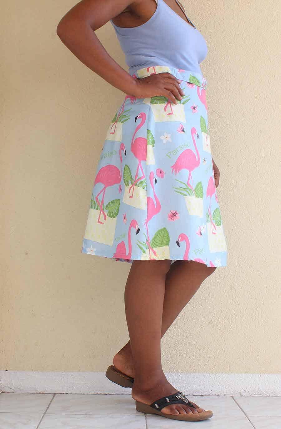 final a-line skirt photo