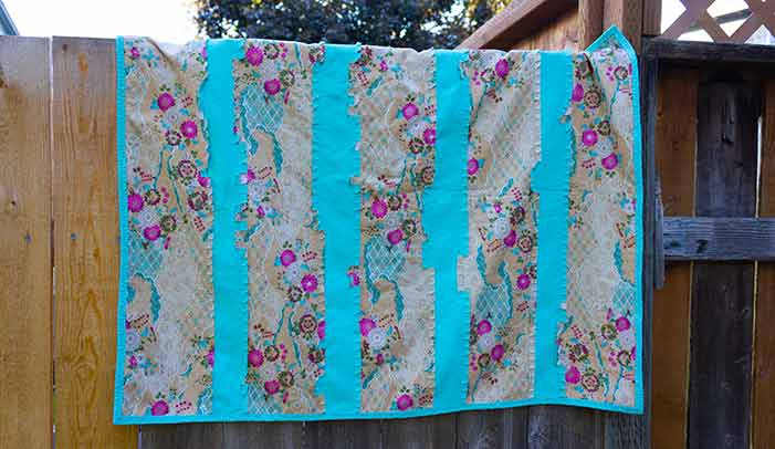 Baby Rag Quilt Featured Image