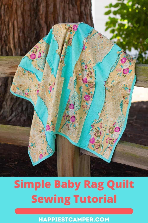 Simple Baby Rag Quilt Sewing Tutorial