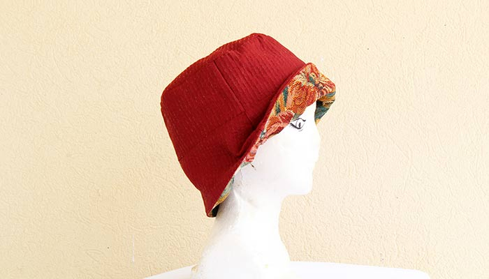 How To Make A Reversible Bucket Hat With Free Pattern Featured Image