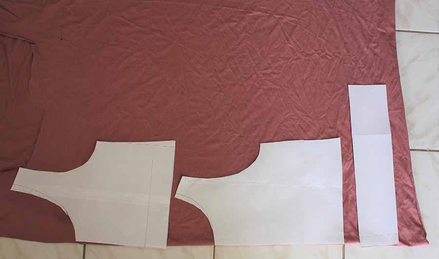 jumpsuit pattern pieces