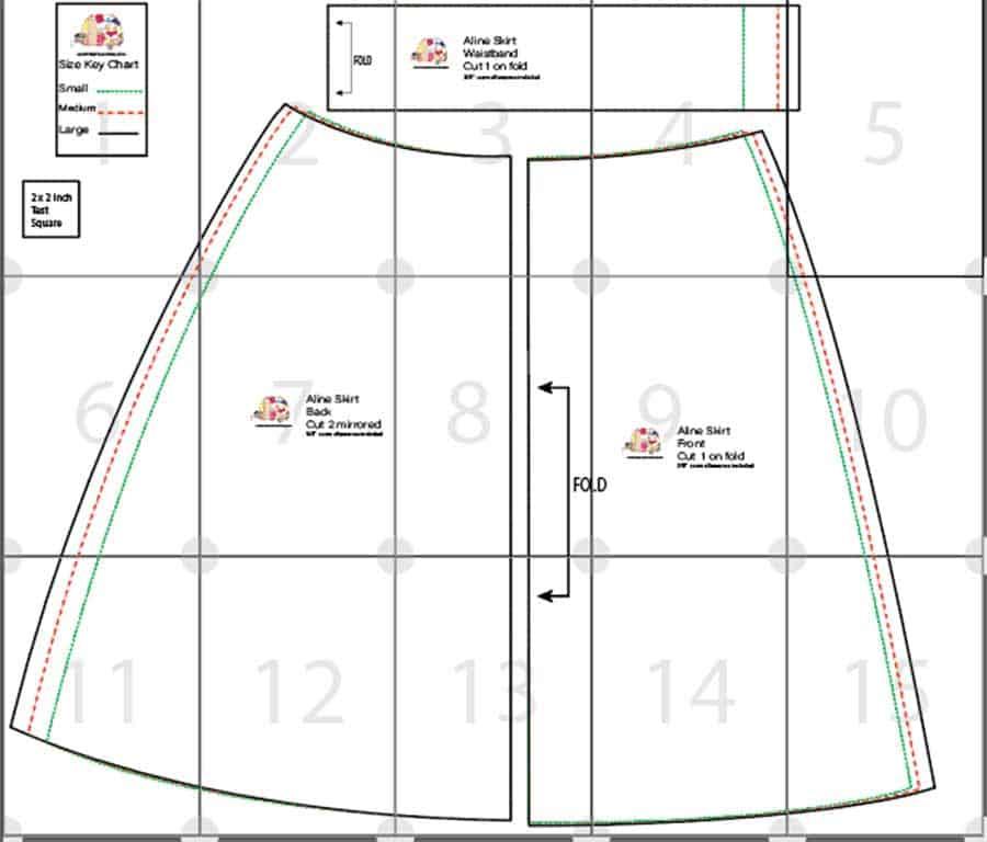 A-Line Skirt Pattern