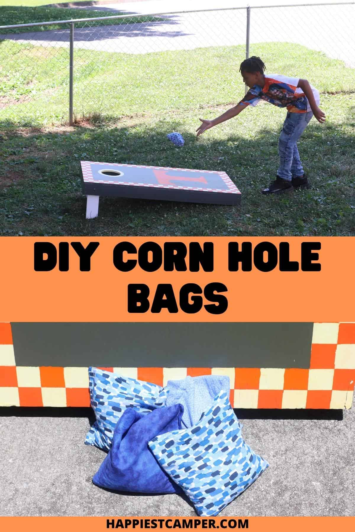 DIY Corn Hole Bags