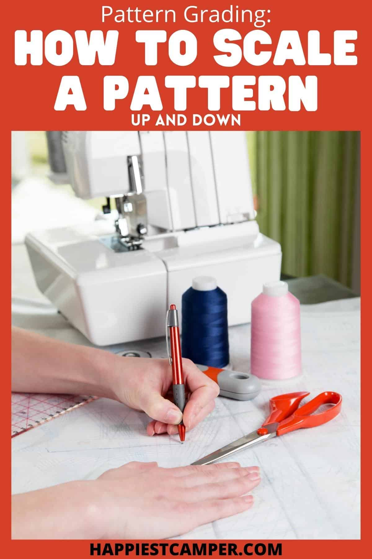 Pattern Grading - How To Scale A Pattern Up And Down