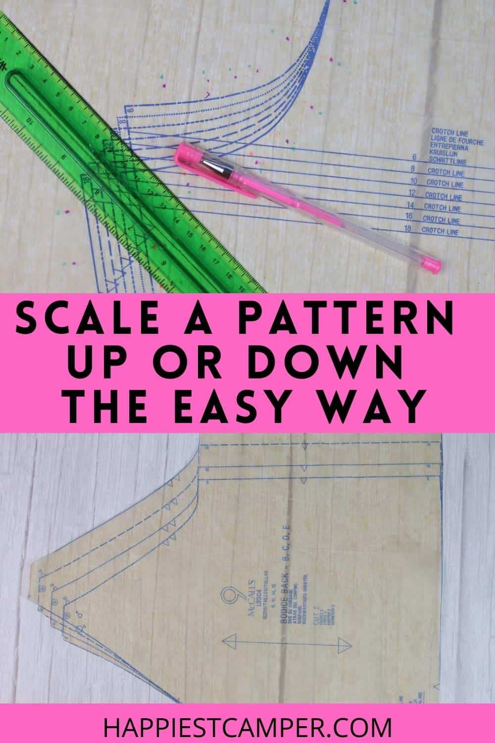 Scale A Pattern Up Or Down The Easy Way