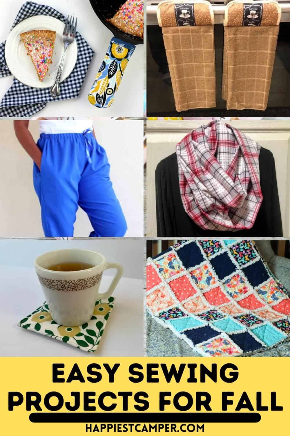 Easy Sewing Projects For Fall