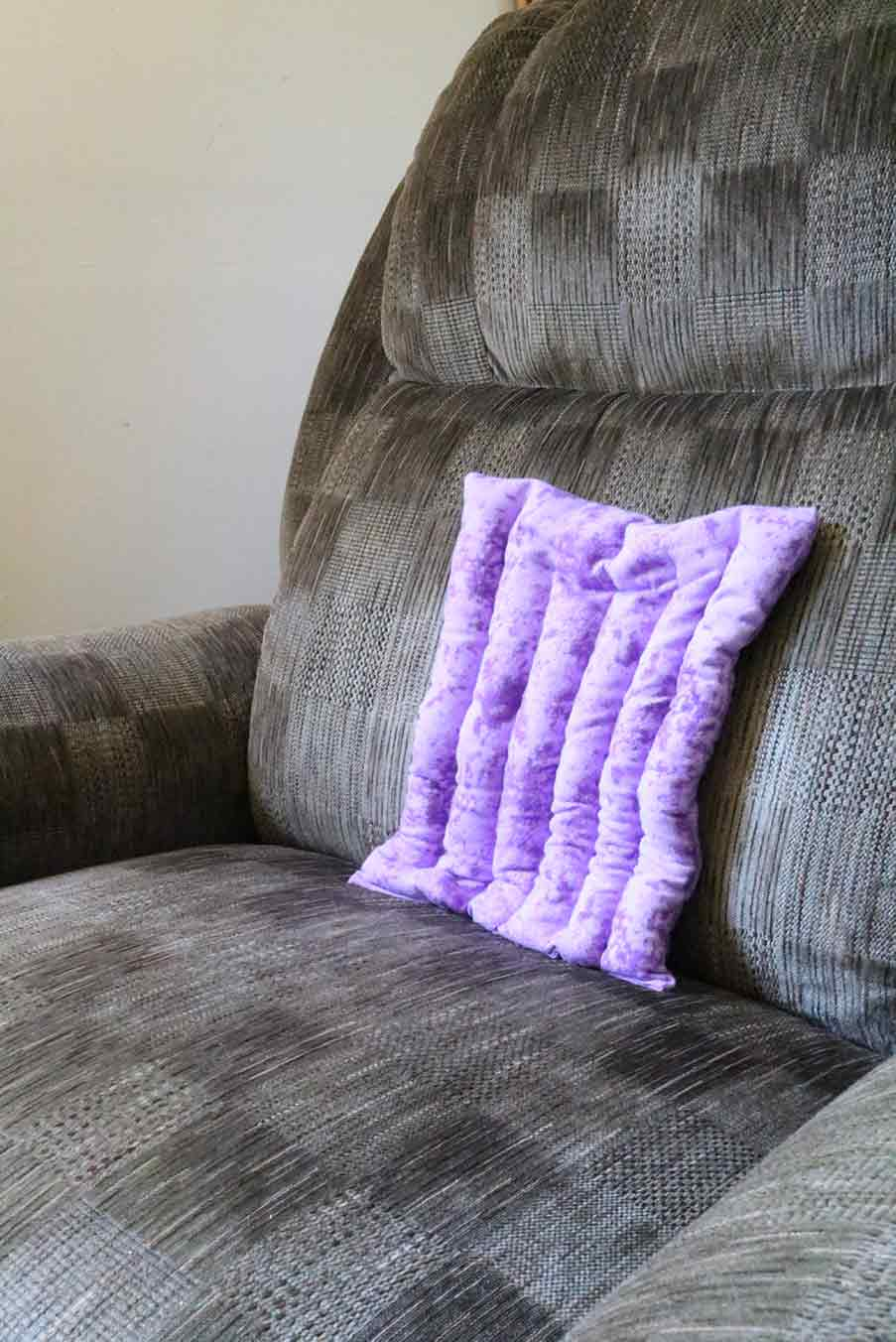 finished heating pad for your back