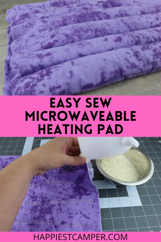 Easy Sew Microwaveable Heating Pad