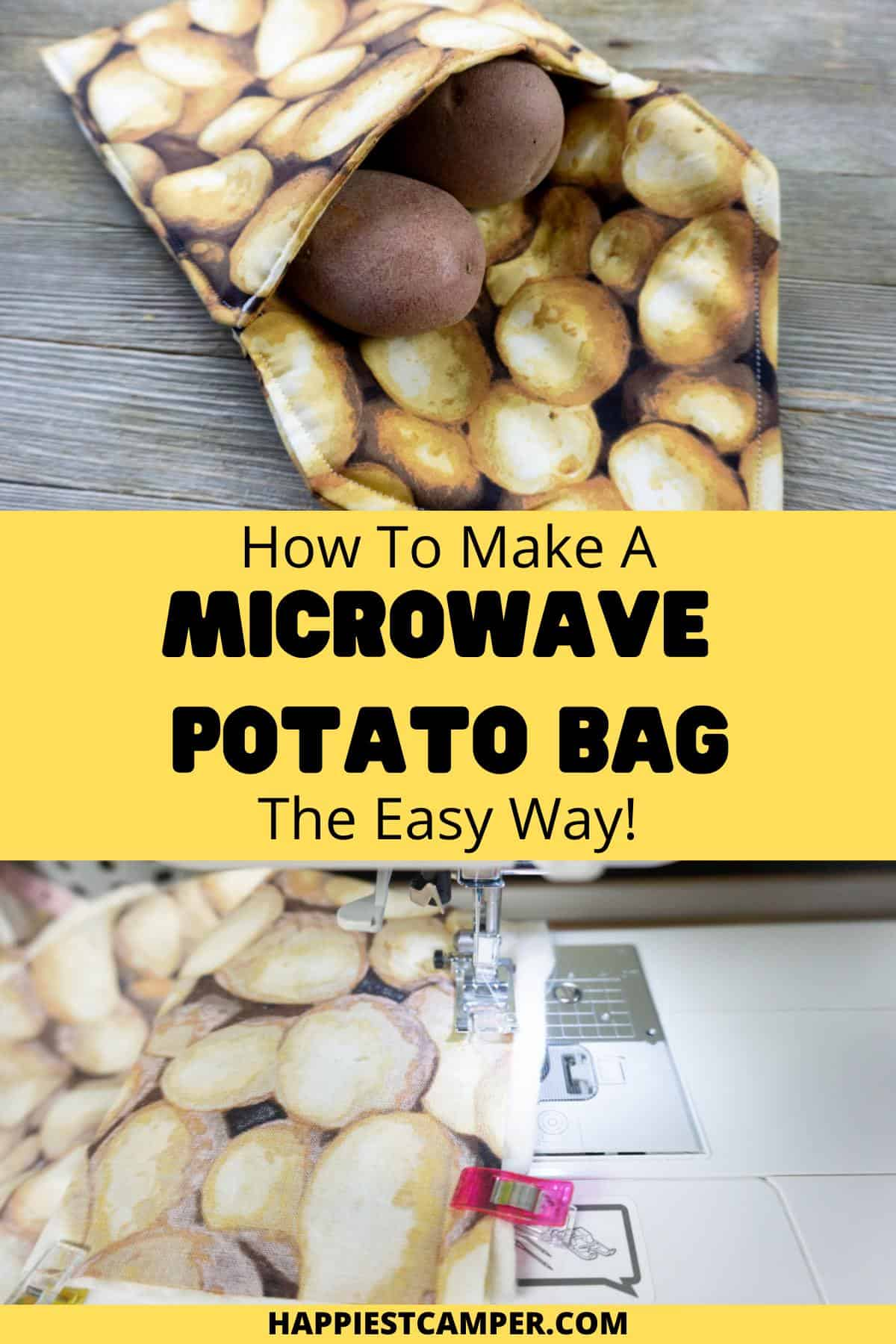 How To Make A Microwave Potato Bag The Easy Way