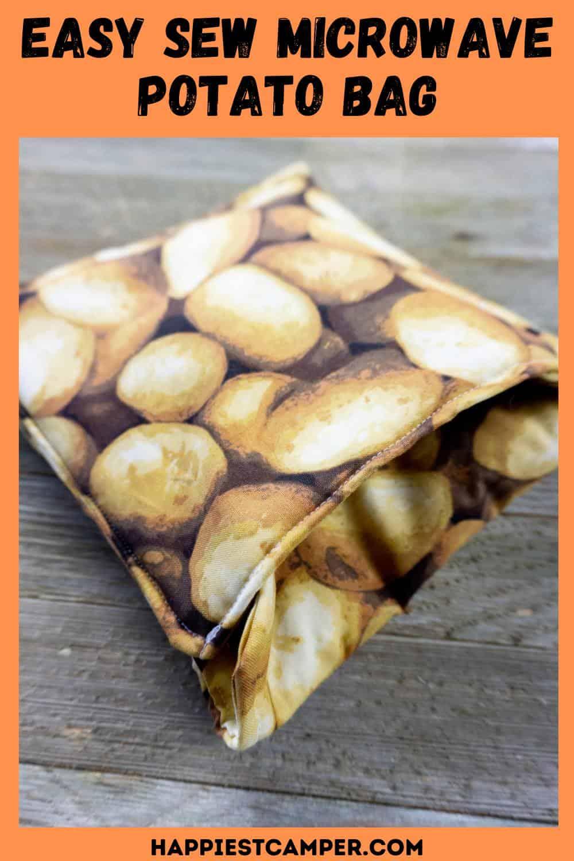 Easy Sew Microwave Potato Bag