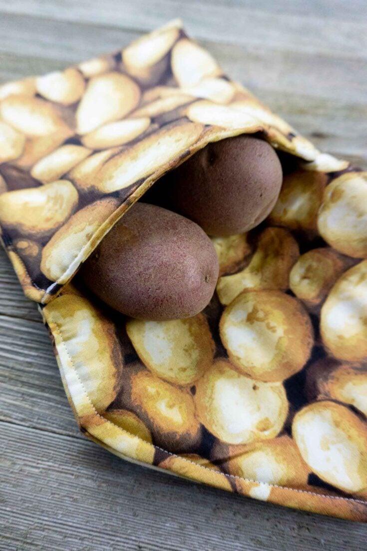 Potato Bag Create Card