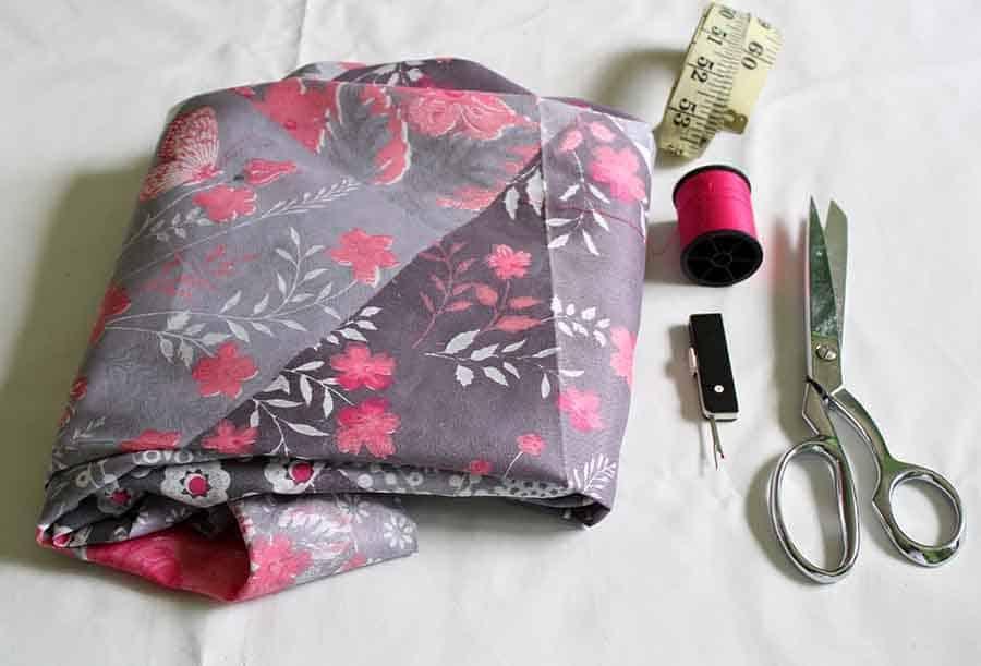 wrap dress supplies